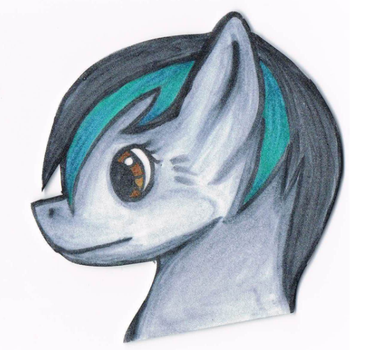 Yumi Badge [ MLP OC ] by kim102
