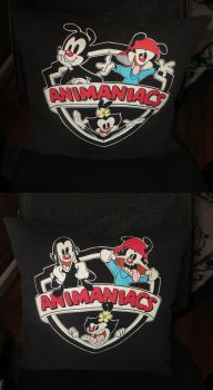 Animaniacs Pillow by tcat