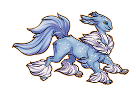 Graceful floof by Whitefeathur