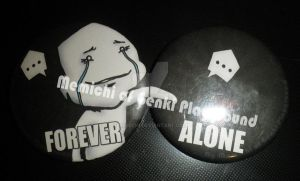 Forever Alone Set by Memichi