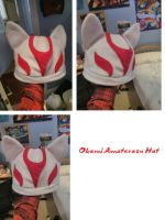 Okami Amaterasu Hat by abnoormal