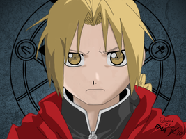 Edward Elric by SpittyluvsKitty