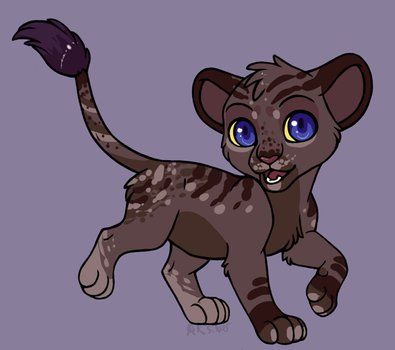 Cub For Lizzy by XKSilver