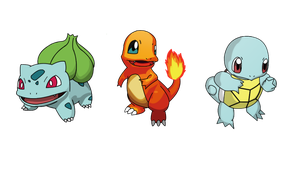 Kanto Starter Pack by DBurch01