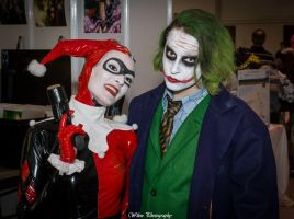 Joker and Harley Quinn by Ufotinik
