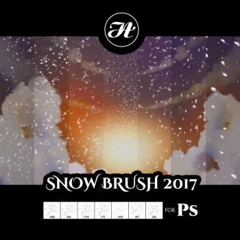 Snow Brush 2017 by Aramisdream