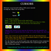 Cursor Tutorial by pixiepot