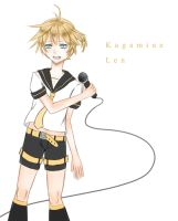 Kagamine Len Rematch by BlackBird321