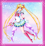 Super Sailor Moon by Setsuna-Yena