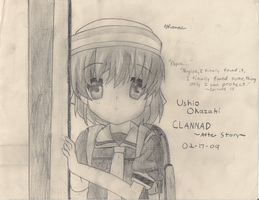 Ushio-CLANNAD AS by FluffyFloofles