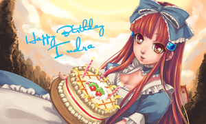 HBD : Cake for You by ridekasama