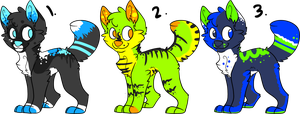 Adoptables! OPEN! !!Reduced Price!! by MuddyShepherd