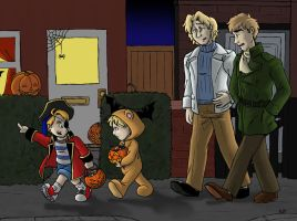 APH FACE Family Halloween by Raax-theIceWarrior