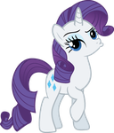 Rarity Pouting. by Belldandychan