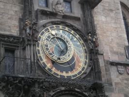astronomical clock - prague by nazarienne