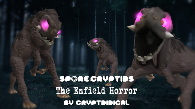 SPORE Cryptozoology - The Enfield Horror by Cryptdidical