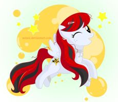 Commission - Scarlet Melody by SeiAni
