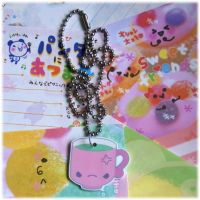 Angry Green Tea Necklace by Keito-San