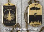 Bioshock lighthouse dog tag with your name by TimforShade