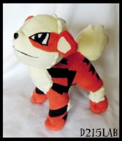 Arcanine plush by d215lab