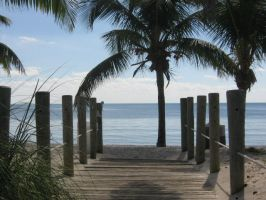 Beach in Key West by mildmildwest