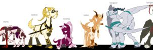 VG - Character Line up by CuriousGlaisTig