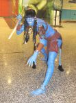 Neytiri - Defensive Stance by smithers456