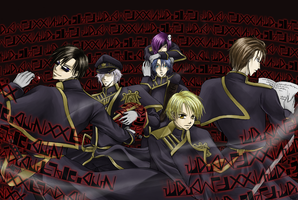 The Black Hawks by Magoro