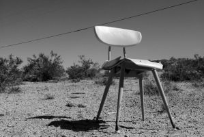 desert chair by ToxicRoachPhoto