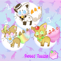 [OPEN!!] Sweet Tooths Adopts 2/3 PRICE LOWERED by BlushingEevee