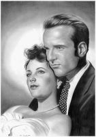 Montgomery and Elizabeth by donchild