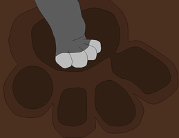 paw to fill base by whitetigerdelight