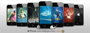 Giant Pack of iPhone Walls - Part 5 by WalidGFX