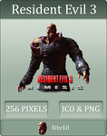 Resident Evil 3: Icon 2 by UltimateAoshi