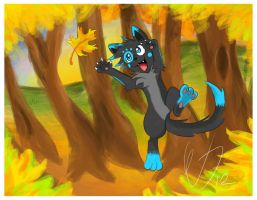 Dat leaf by ColorsAreAwesome