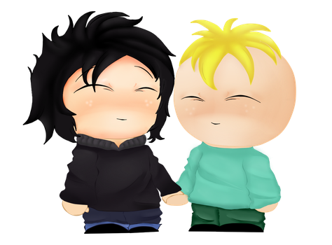 RQ: Ray and Butters by MaddieSP