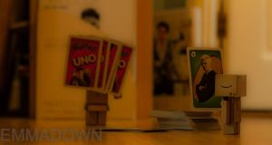 'I'm going to win!' - Danbo Series by oEmmanuele