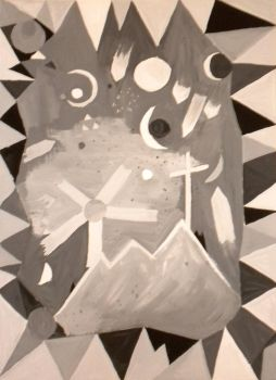 Paul Klee Reproduction by DC-Art-Therapist