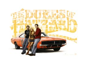 Dukes of Hazzard Wallpaper by ashley17