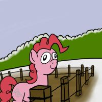 Somewhere... 17 - Pinkie Derp by petirep