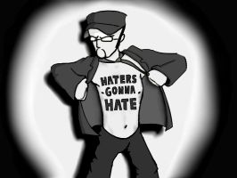 haters gonna... by Broezzz