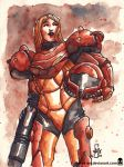 Sketch 080 Metroid by MAROK-ART