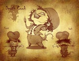 Death Cook Concept Sheet by noiselessness