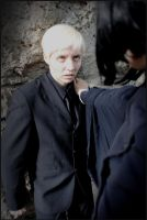 Snape and Draco - Cornered by jeazard