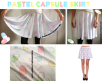 Pastel Capsule Skirt ON SALE NOW! by zombielily