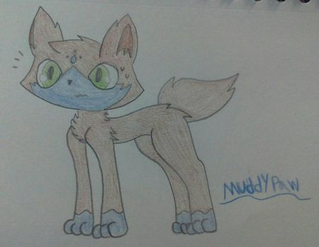 Muddypaw (redesign) by Nateevee