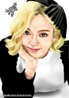 Hyoyeon Digital Painting 42 by BoAism