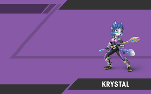 Smash Brothers Smashified - Krystal by Kaiology