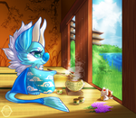 Morning Tea by albinosharky