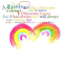 Rainbow by onlymileyperfect
